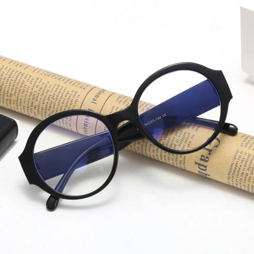 Round Retro Vintage Blue Light Blocking Glasses