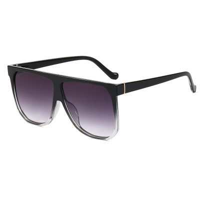 Oversize Flat Top Shades Sunglasses