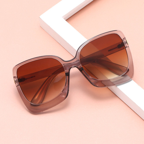 Oversized Fashion Square Women Shades Sunglasses