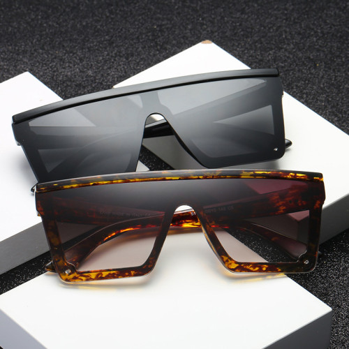 Flat top Square Sun glasses Shades Men Women Sunglasses