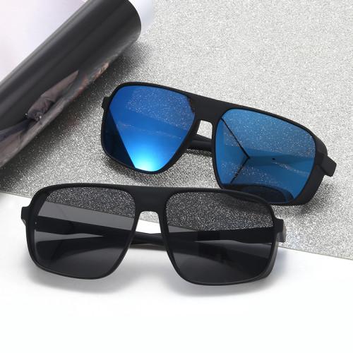 Square Plastic Steampunk Sunglasses