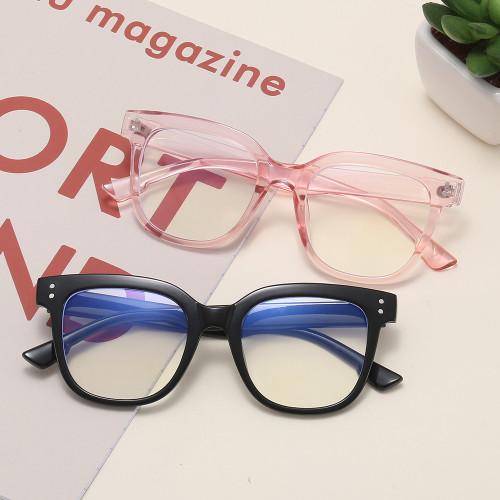 big frame square anti Blue Light Blocking Glasses