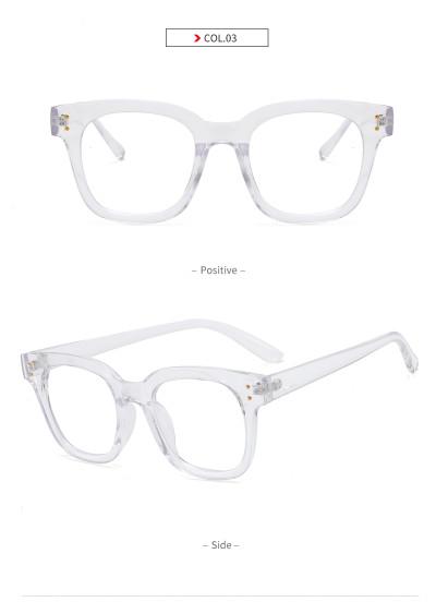 Square Eyeglasses Frames Blue light blocking Glasses