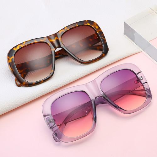 Women UV400 Oversized Square Shades Sunglasses