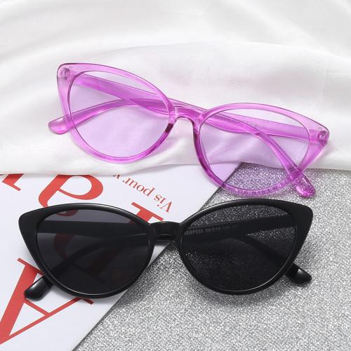 Retro Plastic Cat Eye Sunglasses