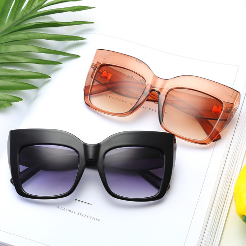 Fashion Women Oversized Cat Eye Sunglasses