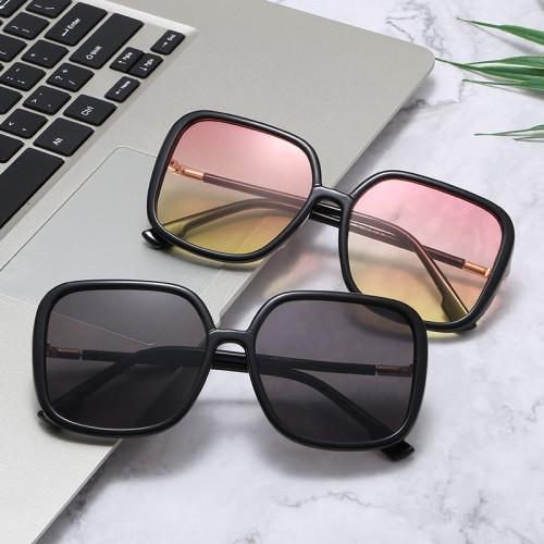 Men Women Square Vintage Shades Sunglasses