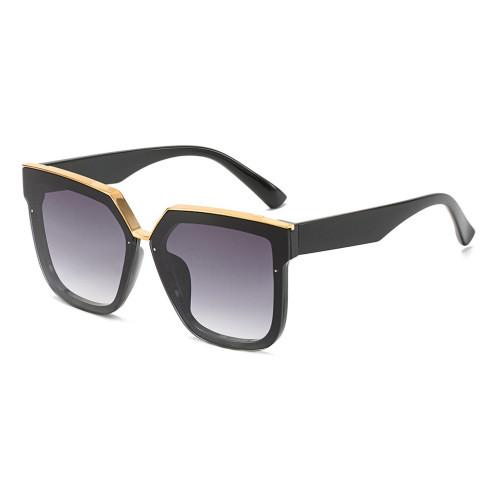 Fashion Sun glasses Thick Frame Oversized Square Women Sunglasses