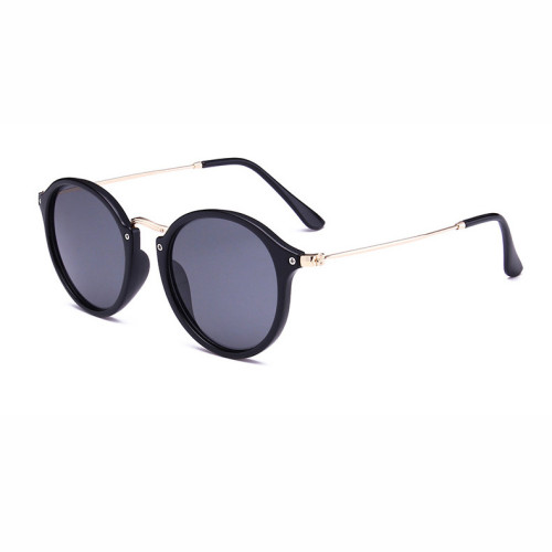 Retro Vintage Men Women Round Sunglasses