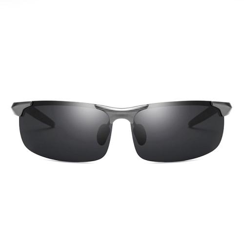 Aluminum Magnesium Alloy Polarized Mens Sunglasses