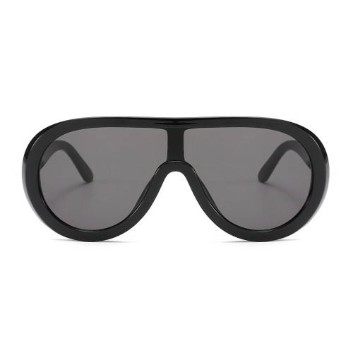 Oversized Shades Sun glasses One Piece Lens Shield Sunglasses