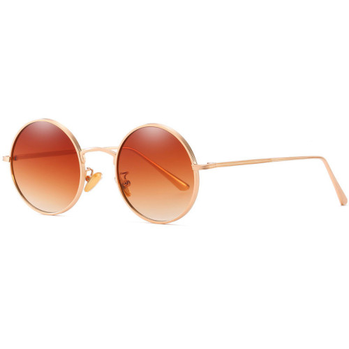 Retro Vintage Round Metal Sunglasses