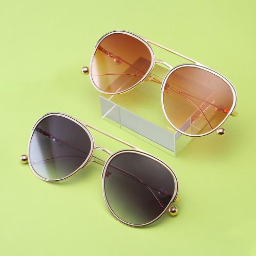 Fashion Designer Pearl Sun glasses Women Sunglasses