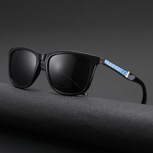 TR90 Frame TAC 1.1 Lenses Polarized Men's Outdoor Sunglasses