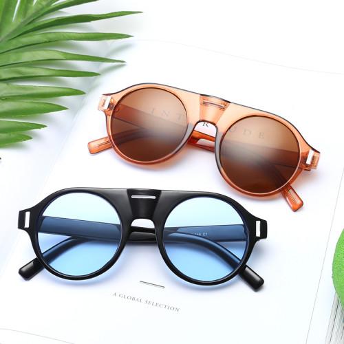 Fashion Retro Vintage Sun glasses Men Women Round Sunglasses