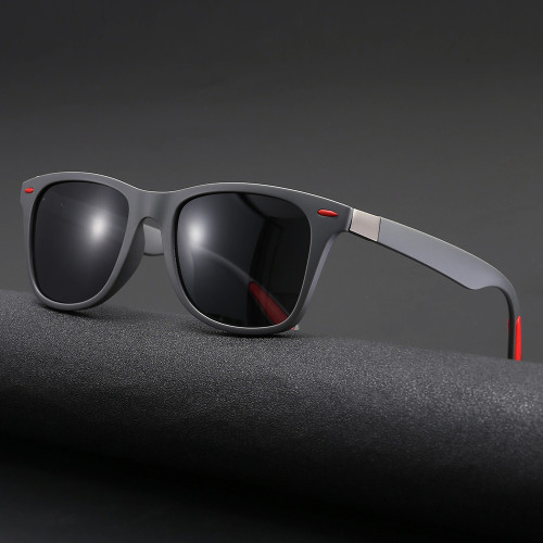 Classic Men Driving Shades TR90 Frame TAC 1.1 Lenses Polarized Sunglasses