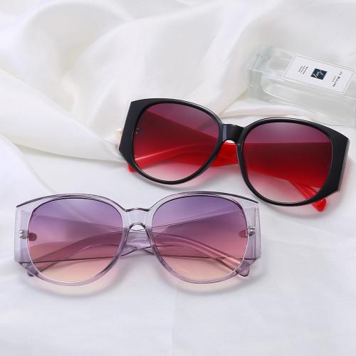 Fashion Oversized Women Sun glasses Thick Temple Sunglasses
