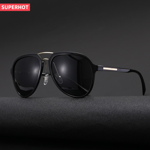 TR90 Frame TAC 1.1 Lenses Shades Men's Polarized Driving Sunglasses