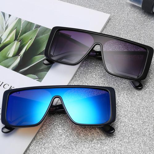 Fashion Brand Designer Sun glasses Men Women Oversized Shield Shades Sunglasses