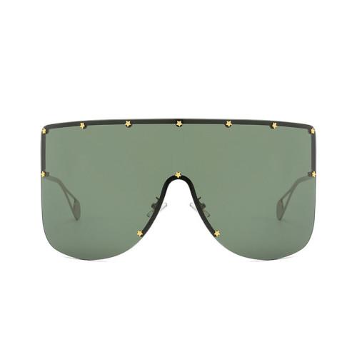Large Sun glasses Shades Oversized Women Shield Sunglasses