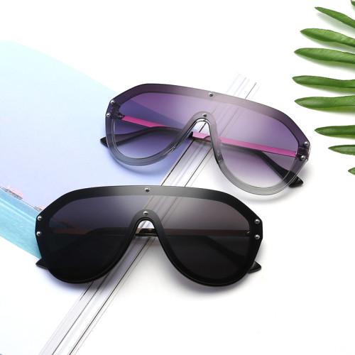 Fashion Men Women One piece lens Shades Shield Sunglasses