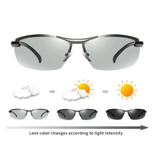 Polarized Photochromic Lenses Driving Sunglasses