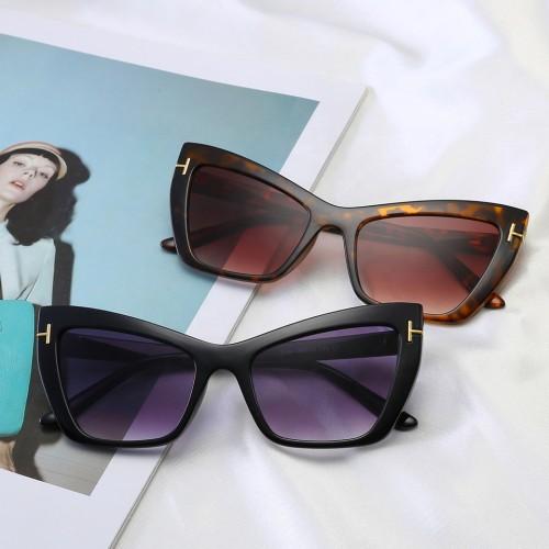 Brand Designer Sun glasses Fashion Cateye Women Sunglasses