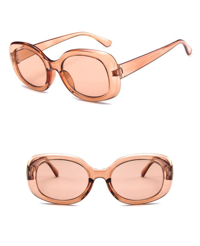 Fashion Sun glasses Retro Vintage Plastic Square Sunglasses