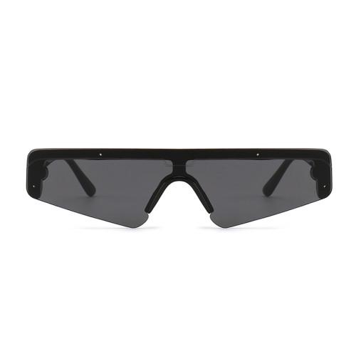 Future Look one piece lens Sun glasses Small Flat Top Sunglasses