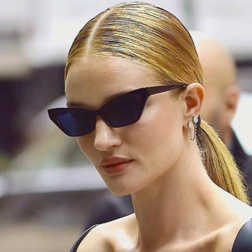 Fashion Women Sun glasses Small Retro Vintage Pointed Sunglasses