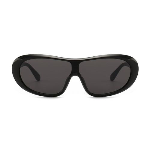 Plastic one piece lens shades Retro Vintage Sunglasses