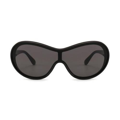 Retro Vintage Sun glasses Men Women One Piece Lens Sunglasses