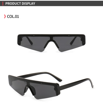 Future Look one piece lens Sun glasses Small Flat Top Sunglasses