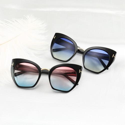 Fashion Female Shades Brand Designer Women Cat Eye Sunglasses