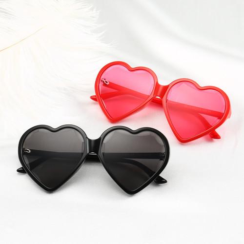 Fashion Women Heart Sunglasses