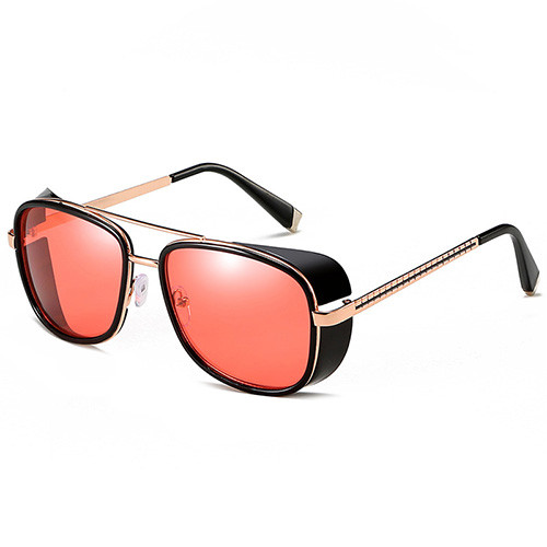 Classic Steam punk Sun glasses Iron Man Tony Stark Sunglasses