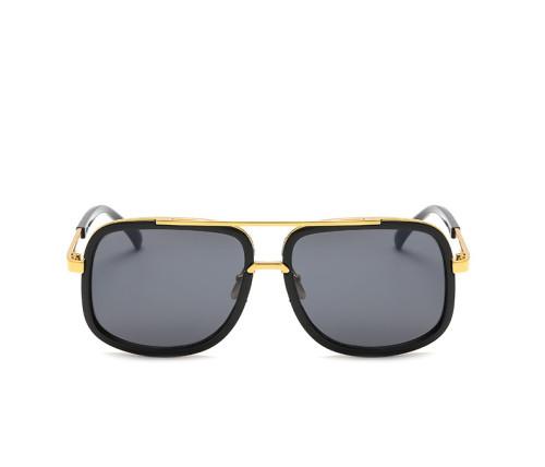 Fashion Men Sun glasses Gradient Shades Square Brand Designer Sunglasses