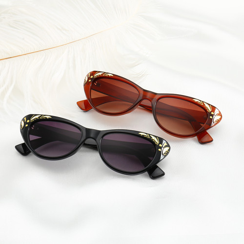 Brand Designer Women Retro Vintage Cat Eye Sunglasses