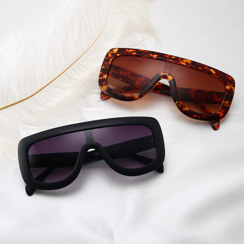 one piece Lens Brand Designer Sun glasses Women Oversized Shield Shades Sunglasses