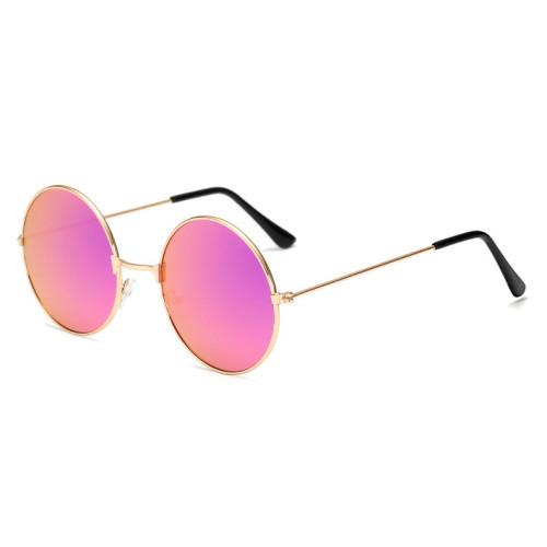 53mm Classic Retro Vintage Men Women Sun glasses Fashion Mirrored Round Metal Sunglasses