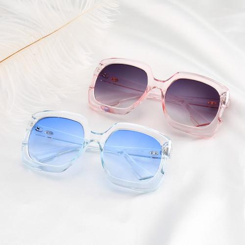 Oversized Square Shades Brand Designer Sun glasses Men Women Sunglasses