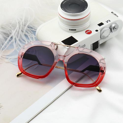 New Brand Designer Sun glasses Shades Female Oversized Sunglasses
