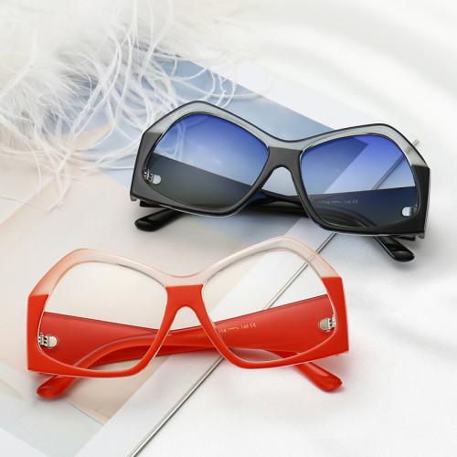 Oversized Brand Designer Sun glasses Fashion Women Sunglasses