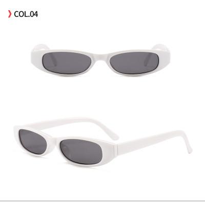 Retro Vintage Small Oval Sun glasses Plastic Sunglasses