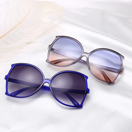 Fashion Sun glasses Shades Brand Designer Oversized Women Sunglasses