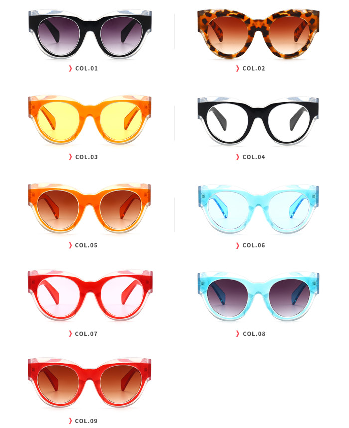 Fashion Brand Designer Sun glasses Retro Vintage Women Sunglasses
