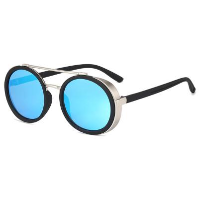 Vintage Steam Punk Sun glasses UV400 Shades Metal Frame Sunglasses