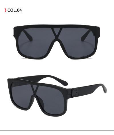 Fashion big frame Sun glasses UV400 Oversized Shades Sunglasses