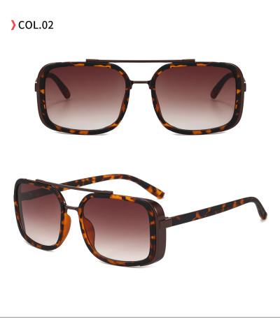 Fashion Metal Frame Sun glasses UV400 Gradient Shades Sunglasses