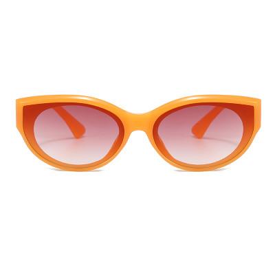 Small Retro Oval Sun glasses Women UV400 Sunglasses